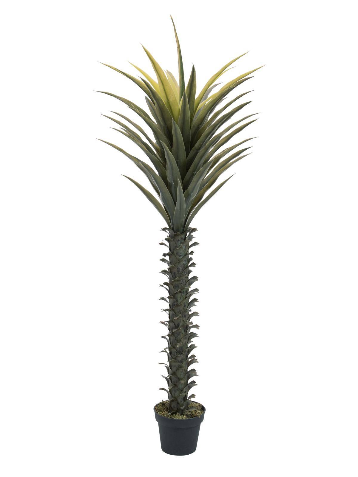 Tronchetto Della Felicità Da Esterno palma finta owen 165 cm - tronchetto della felicità finto