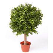 Künstlicher Buchsbaum TOM, Naturstamm, crossdoor, 35cm, Ø25cm