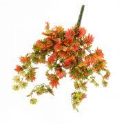 Künstlicher Ahornbusch ILJA, Steckstab, rot-grün, 35cm