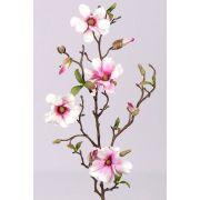 Kunst Magnolie MARGA, rosa-pink, 80cm, Ø6-8cm