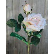 Künstliche Rose SINJE, zartrosa, 35cm, Ø9cm