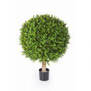 Künstlicher Buchsbaum TOM, Naturstamm, 65cm, Ø50cm