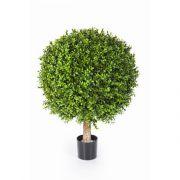 Künstlicher Buchsbaum TOM, Naturstamm, 95cm, Ø80cm