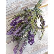 Textil Lavendelstrauß KIRSA, violett, 30cm, Ø15cm