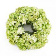 Künstlicher Hortensienkranz MEJA, apfelgrün, Ø35cm