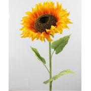 Kunstblume Sonnenblume BELITA, gelb-orange, 105cm, Ø27cm
