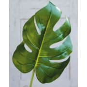 Plastik Philodendron Monstera Deliciosa Blatt KERIM, 55cm