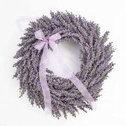 Künstlicher Lavendelkranz YLVIE, violett, Ø40cm