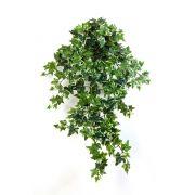 Kunstpflanze Efeuhänger LUKA auf Steckstab, grün-weiß, 70cm