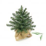 Künstlicher Tannenbaum ATHEN, Jutesack, 30cm, Ø20cm