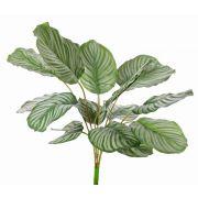 Kunststoff Calathea Orbifolia ZAIDA auf Steckstab, grün, 75cm