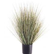 Künstliche Rutenhirse ZAYN, grün-grau, 60cm