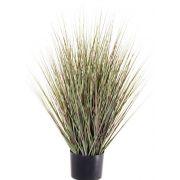 Künstliche Rutenhirse ZAYN, grün-grau, 75cm